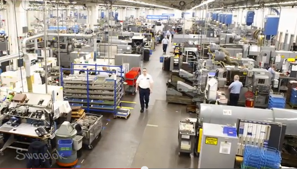 Swagelok Keeps American Manufacturing Alive And Strong