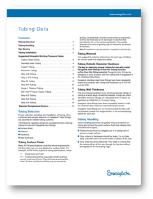 Swagelok Tubing Data