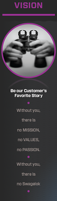 Be our customer's favorite story