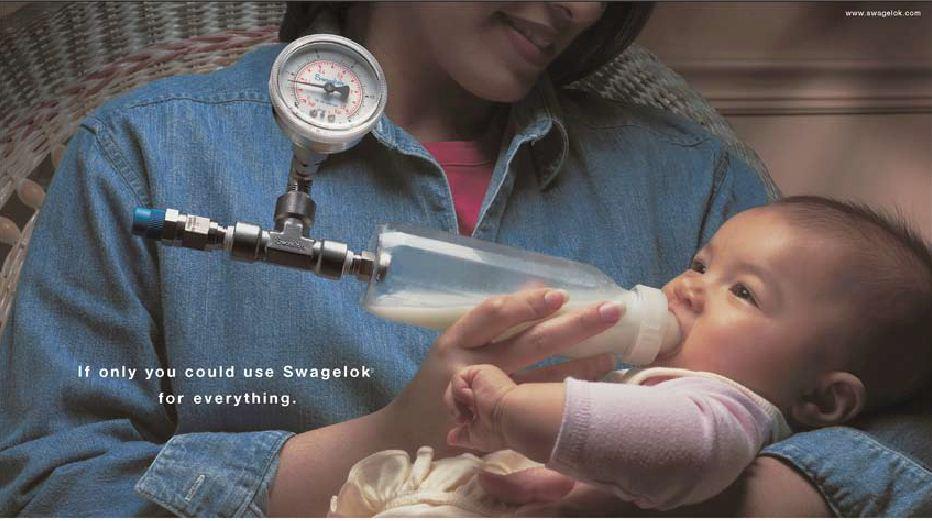 Swagelok Baby Bottle