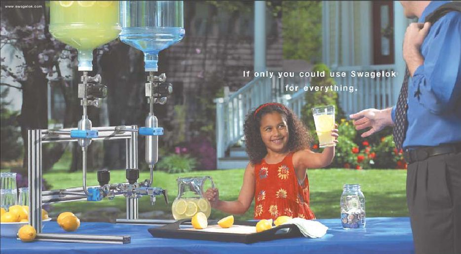 Swagelok Lemonade Stand