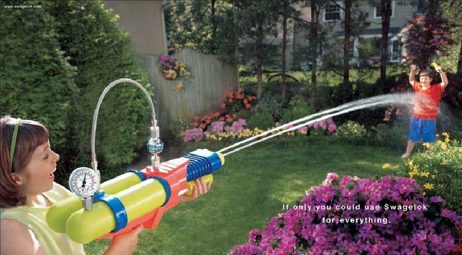 Swagelok Squirt Gun