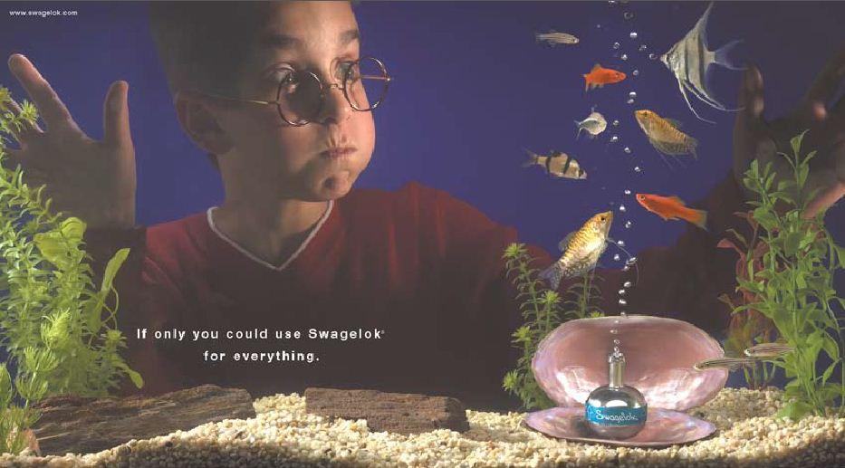 Swagelok Aquarium
