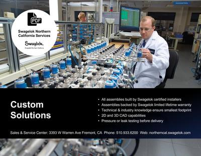 Top Ten Reasons to Have Swagelok® Custom Solutions Build Your Assembly