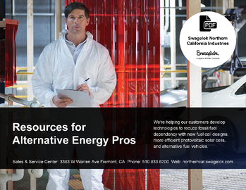 Resources for Alternative Energy and Alternative Fuels Industries Pros