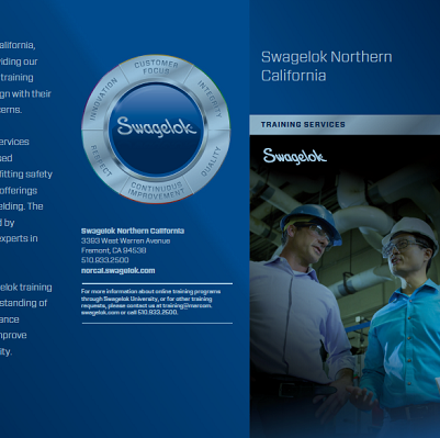 Click to download the Swagelok Training Overview Brochure