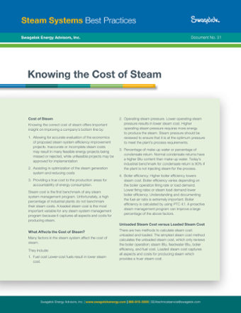 31. Knowing the Cost of Steam