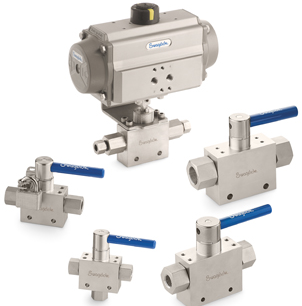 Medium-and High-Pressure Ball Valves
