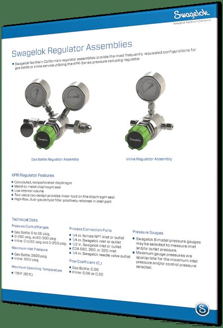 Pressure Regulators | Regulator Assemblies | Swagelok California
