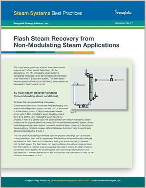 Flash-Steam-Recovery-from-Non-Modulating-Applications