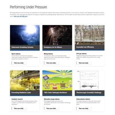 Visit the Case Studies section for industry-specific stories