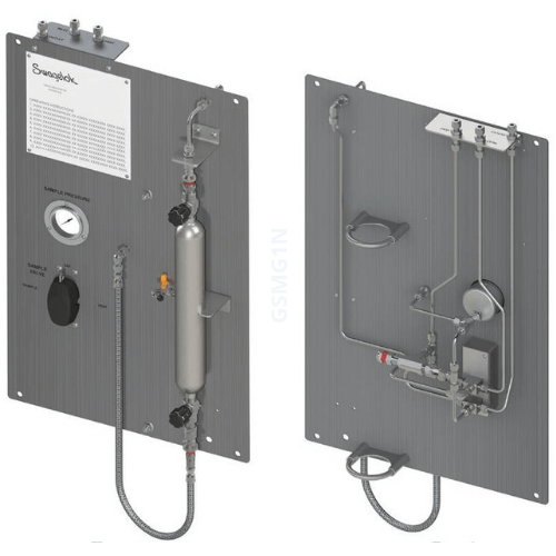 Standard Gas Sampler<small>front, back<small>