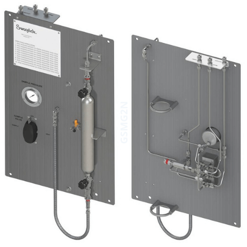 Continuous Flow Gas Sampler<small>front, back</small>