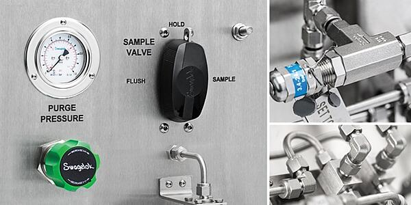 Sampling systems for process analyzers