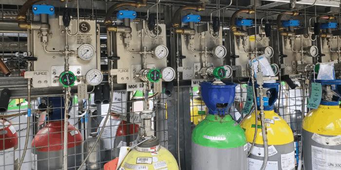 gas distribution management system