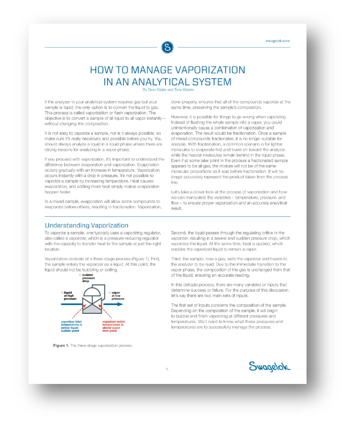 How to Manage Vaporization in an Analytical System
