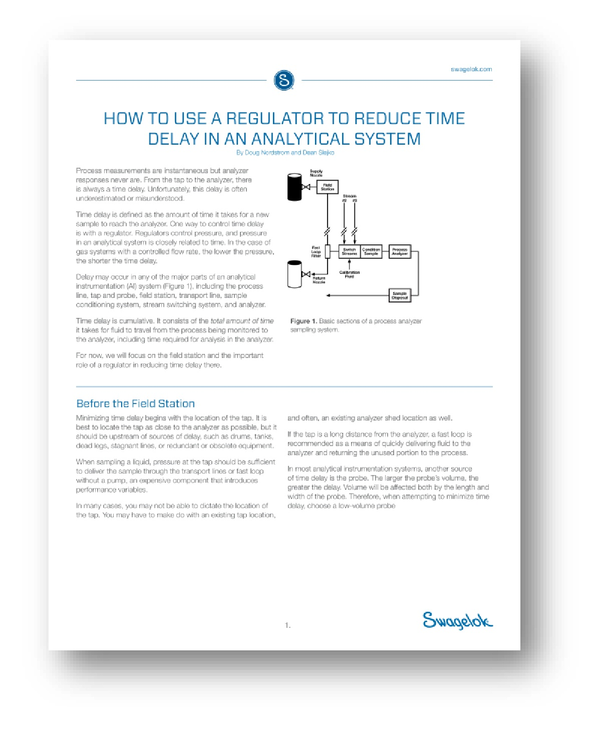 Using a Regulator to Reduce Time Delay in an Analytical System