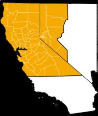 We serve northern California and northwestern Nevada