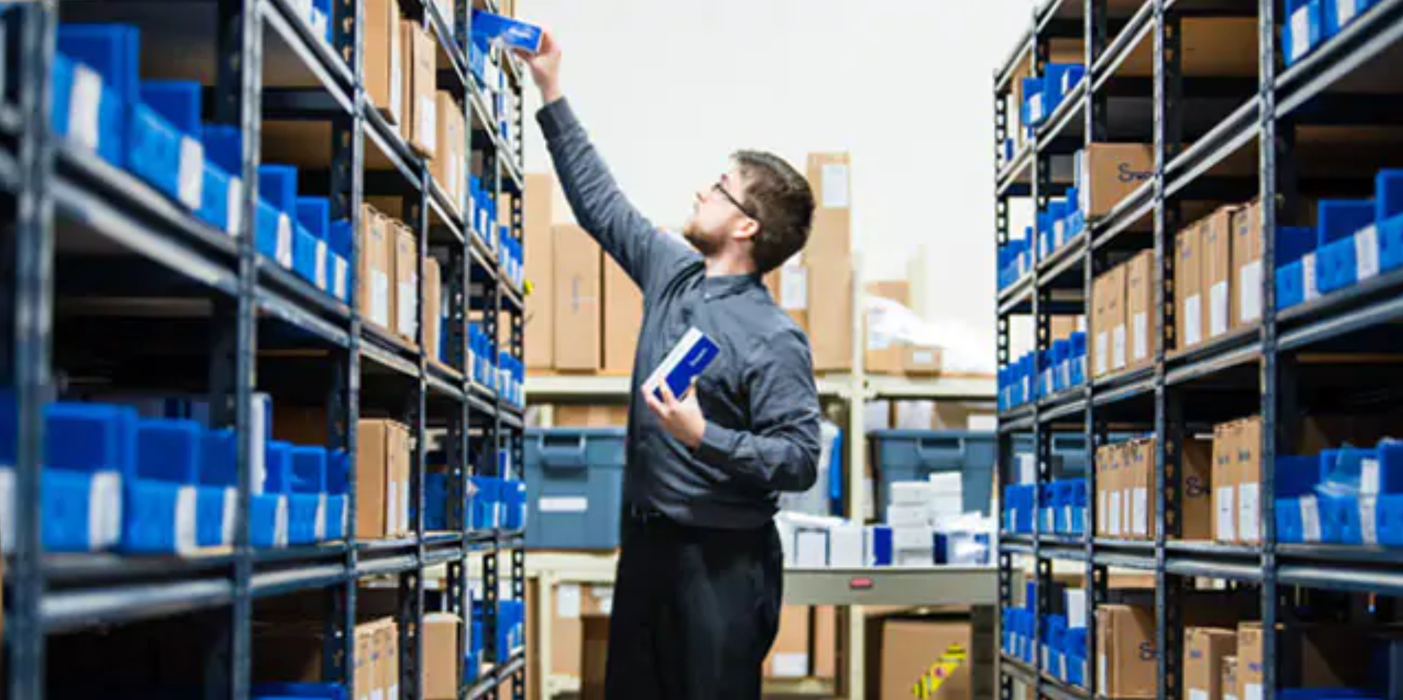 Swagelok Northern California maintains inventory of parts and components.