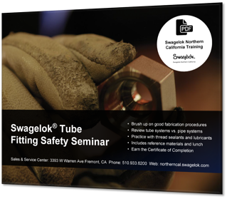 Swagelok  Tube Fitting Safety Seminar