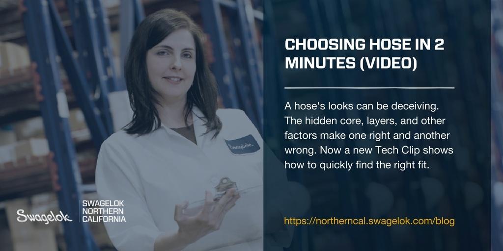 Choosing Hose in 2 Minutes (Video)