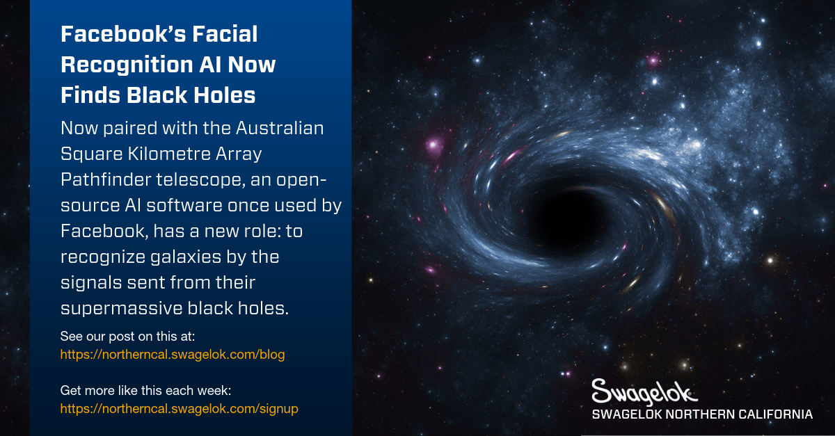 Facebook's Facial Recognition AI Now Finds Black Holes