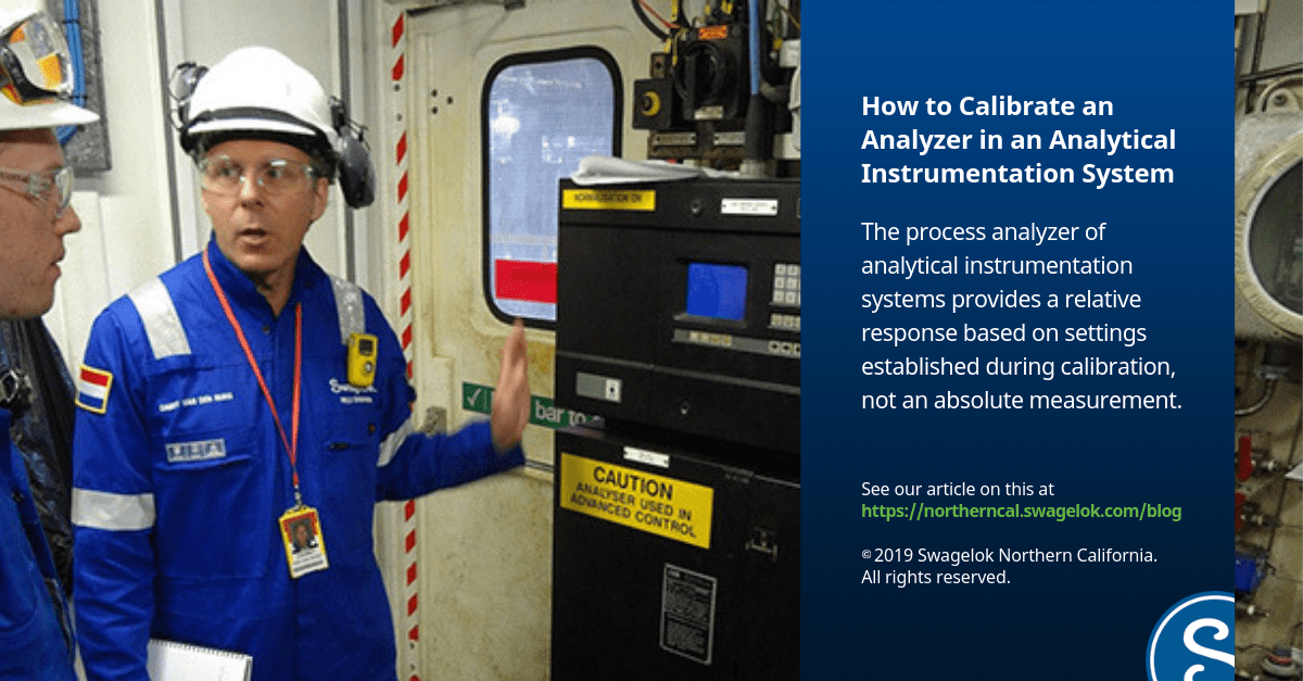 How to Calibrate an Analyzer in an Analytical Instrumentation System
