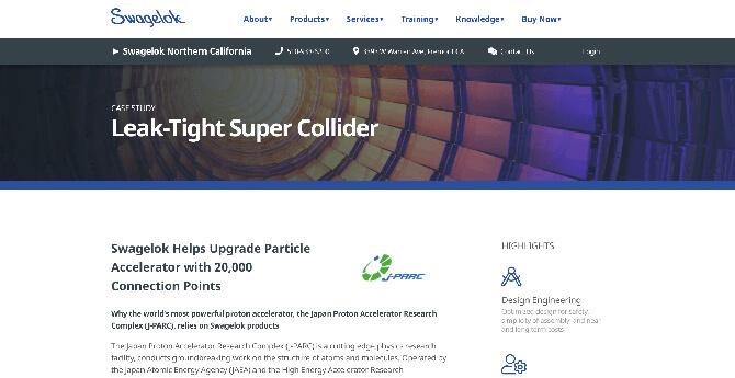 Leak-tight-super-collider