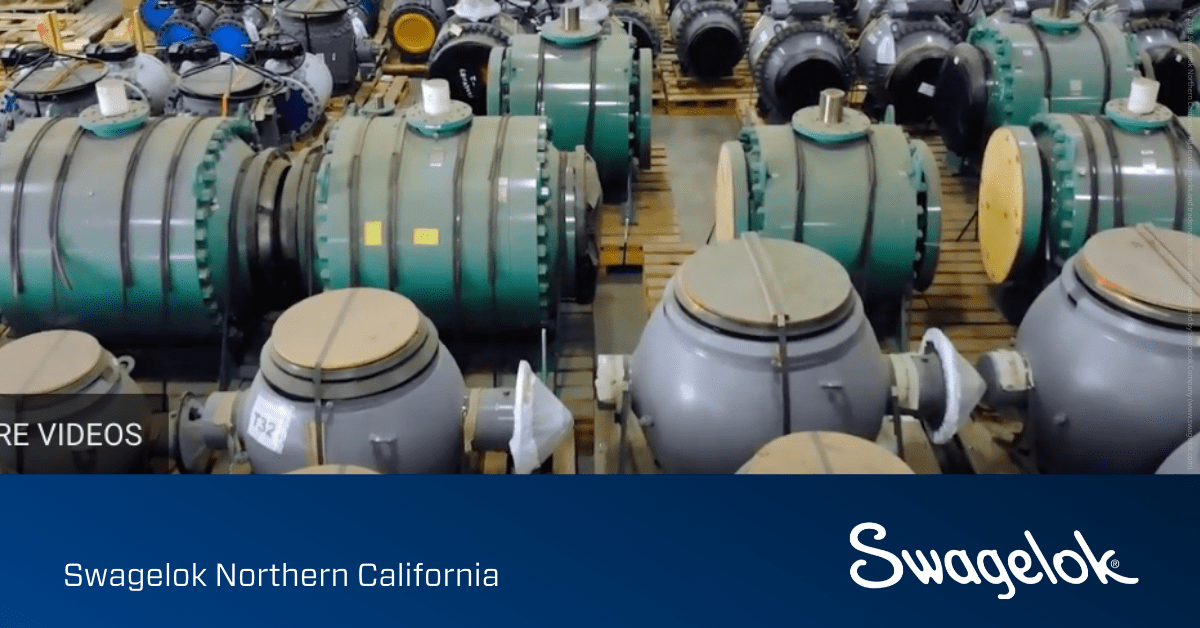 Thermal Relief Valves Systems from Swagelok Speed Production for Charbonneau Industries