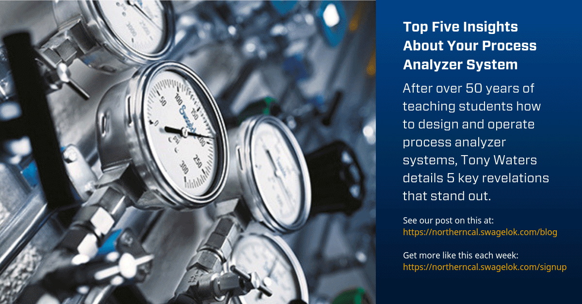 Top Five Insights About Your Process Analyzer System