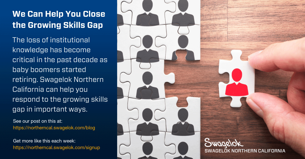 We Can Help You Close the Growing Skills Gap