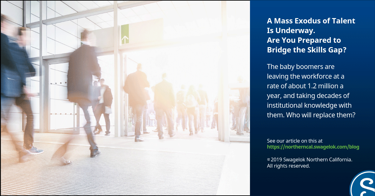 A Mass Exodus of Talent Is Underway, Are You Prepared to Bridge the Skills Gap?