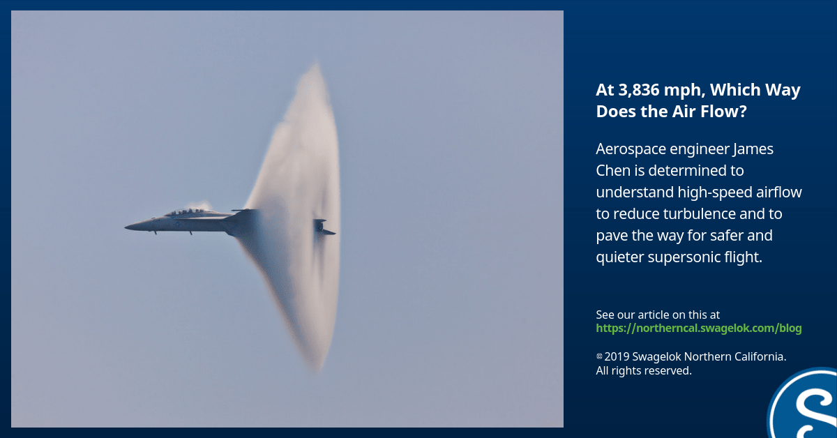 At 3,836 mph, Which Way Does the Air Flow?