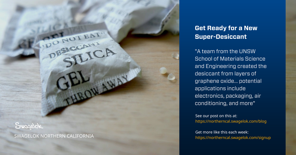 Get Ready for a New Super-Desiccant