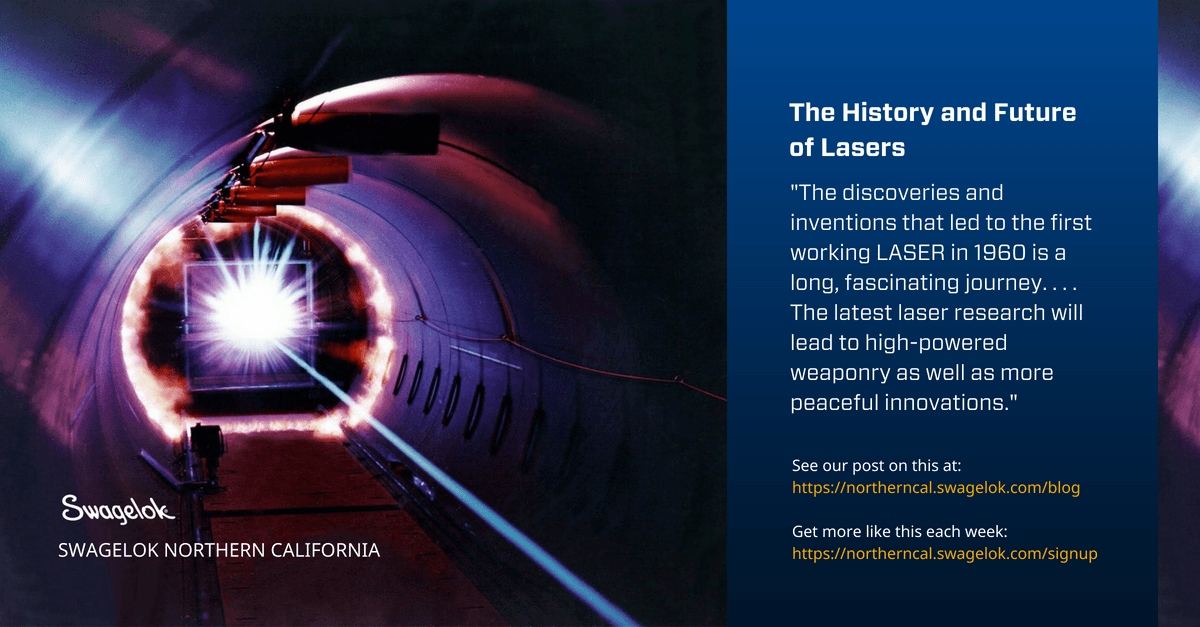 The History and Future of Lasers