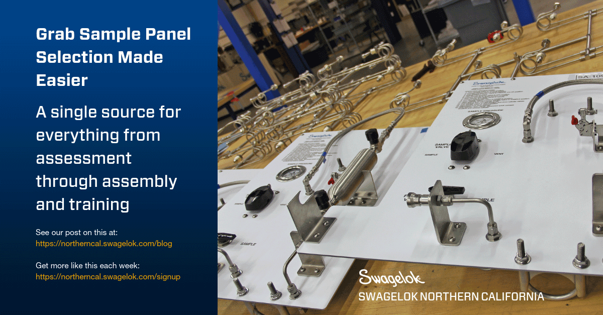 Grab Sample Panel Selection Made Easier