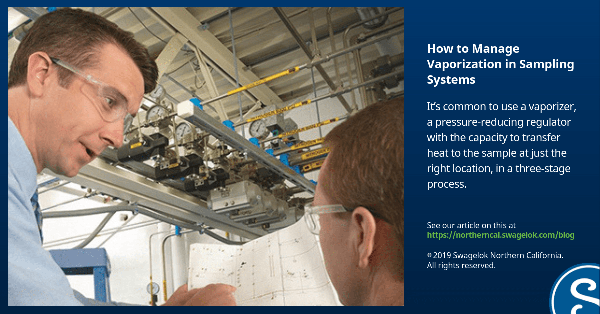 How to Manage Vaporization in Sampling Systems