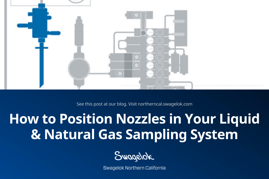 How to Position Nozzles in Your Liquid & Natural Gas Sampling System