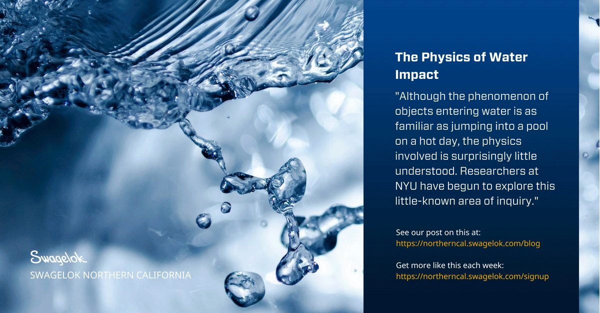 The Physics of Water Impact