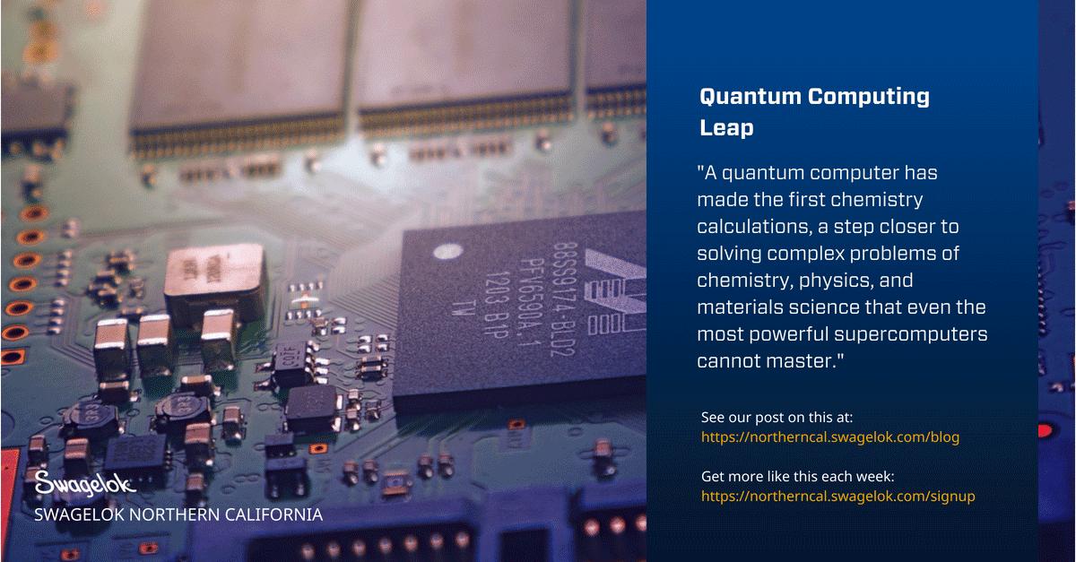 Quantum Computing Leap