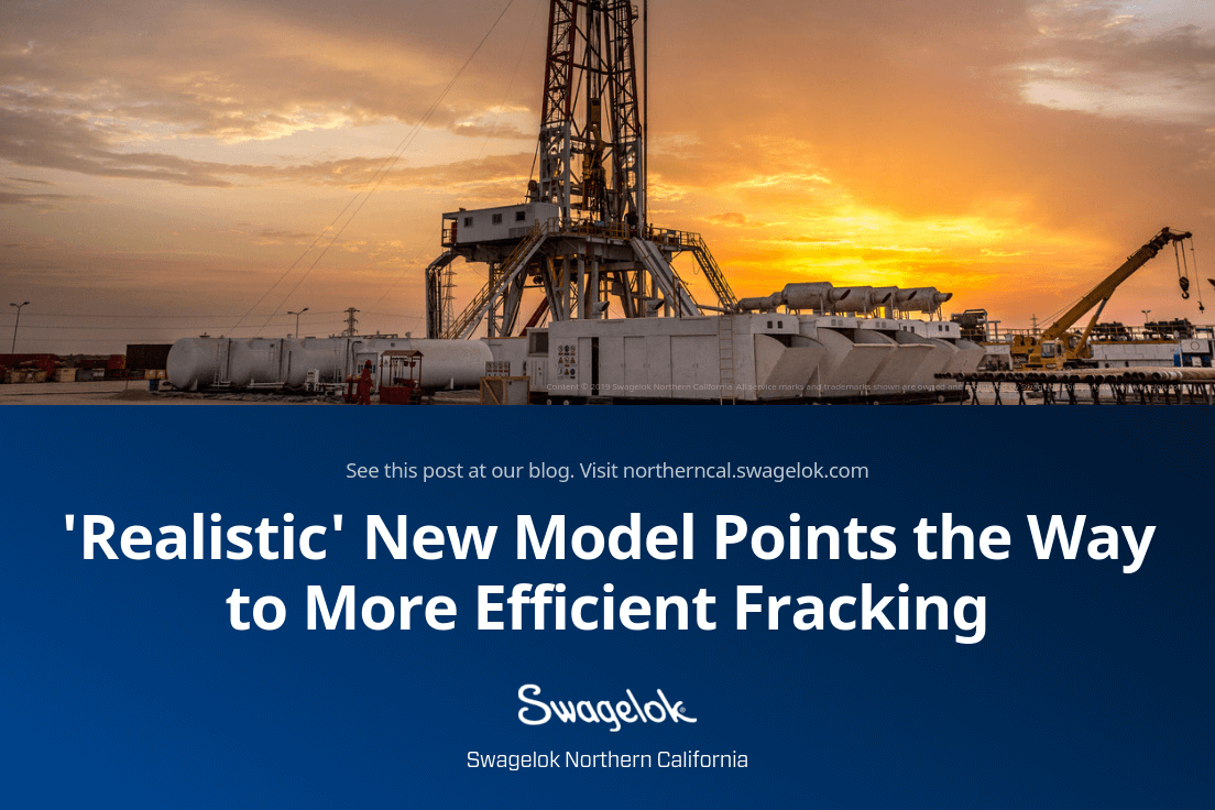 'Realistic' New Model Points the Way to More Efficient and Profitable Fracking